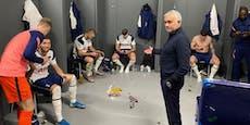 Mourinho zeigt die Handysucht seiner Spieler