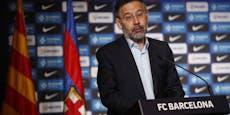 Paukenschlag! Barcelona-Präsident tritt zurück