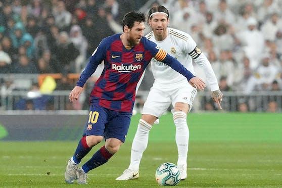 Zwei Meister ihres Fachs: Lionel Messi und Sergio Ramos