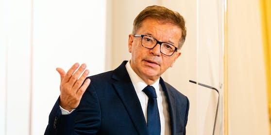 Gesundheitsminister Rudolf Anschober (Grüne).