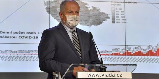 Der tschechische Gesundheitsminister Roman Prymula muss sein Amt abgeben.