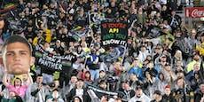 Trotz Corona: 67.000 Fans feiern im Stadion