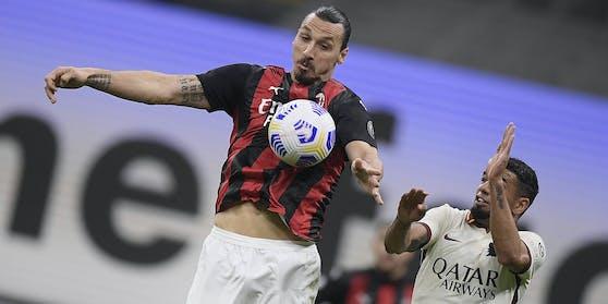 Zlatan Ibrahimovic trifft auch mit 39 nach Belieben.