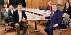 Grüne abserviert! SPÖ-Chef Ludwig hat Lust auf was Neos