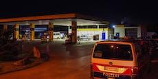 Überfall auf JET-Tankstelle in OÖ, Täter auf der Flucht