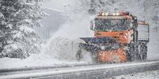Jetzt kommt noch mehr Schnee nach Österreich