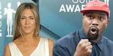 Kanye West wettert gegen Jennifer Aniston