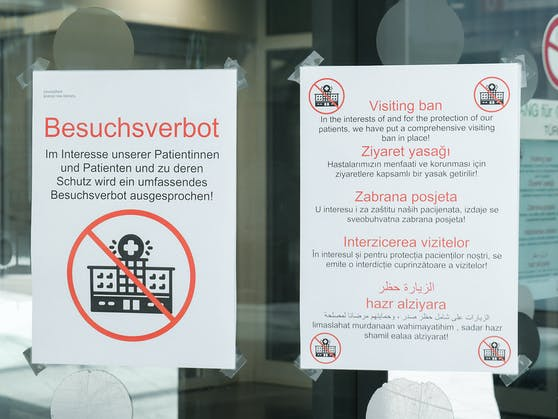 Erste Spitäler in der Steiermark sprechen bereits Besuchsverbote für Patienten aus