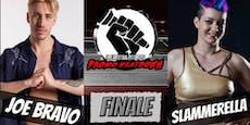 Überraschende Finalisten im Wrestler-Schimpfduell