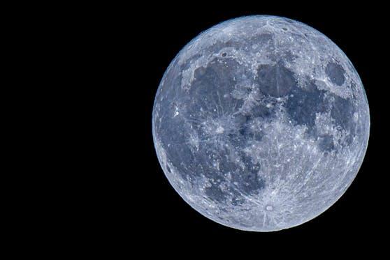 """""""Blue Moon"""" nennt sich dieses Himmelsphänomen"""