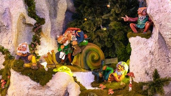 Die Schneckenpost in der Linzer Grottenbahn