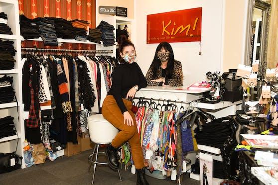 """""""Boutique Kim!"""" - Das Mutter-Tochter Gespann aus Bad Vöslau blickt hoffnungsvoll in die Zukunft."""