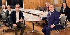 Koalitionsgespräche von SPÖ und Neos auch am Wochenende