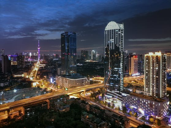 Foto mit dem HUAWEI P Smart 2021 im Nacht-Modus aufgenommen