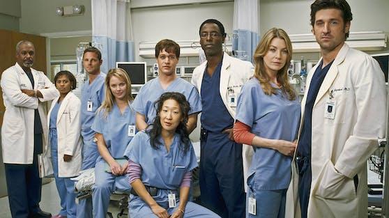 """In ihrer TV-Serie war der Original-""""Grey's Anatomy""""-Cast ein eingespieltes Team. Hinter den Kulissen flogen aber zwischen mehreren Kollegen die Fetzen."""