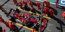 Verschwörung! Macht Ferrari Vettel absichtlich langsam?