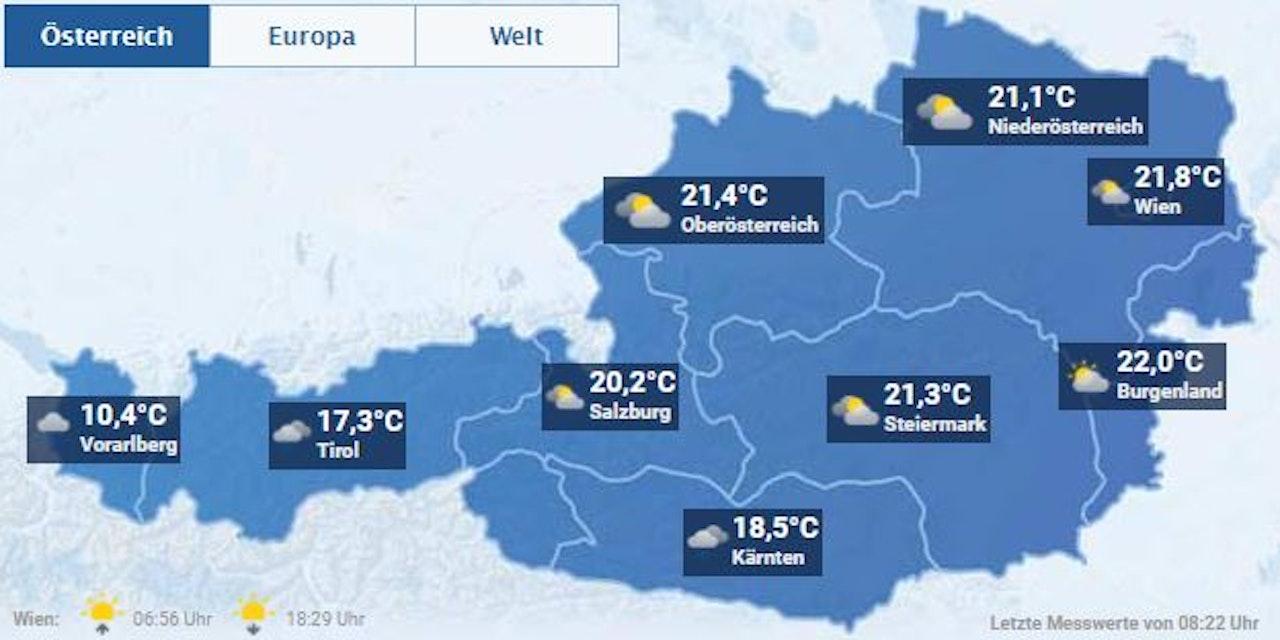 Wetter In Oberösterreich