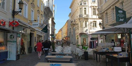Der Vorfall passierte im Klagenfurter Stadtzentrum.