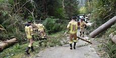 220-km/h-Sturm hinterlässt Spur der Verwüstung