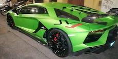 Extrem-Lamborghini polarisiert auf Wiener Balkan-Meile