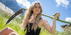 """Melissa Naschenweng zeigt sich """"oben ohne"""""""