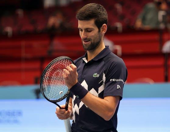 Novak Djokovic ist in der Wiener Stadthalle ausgeschieden.