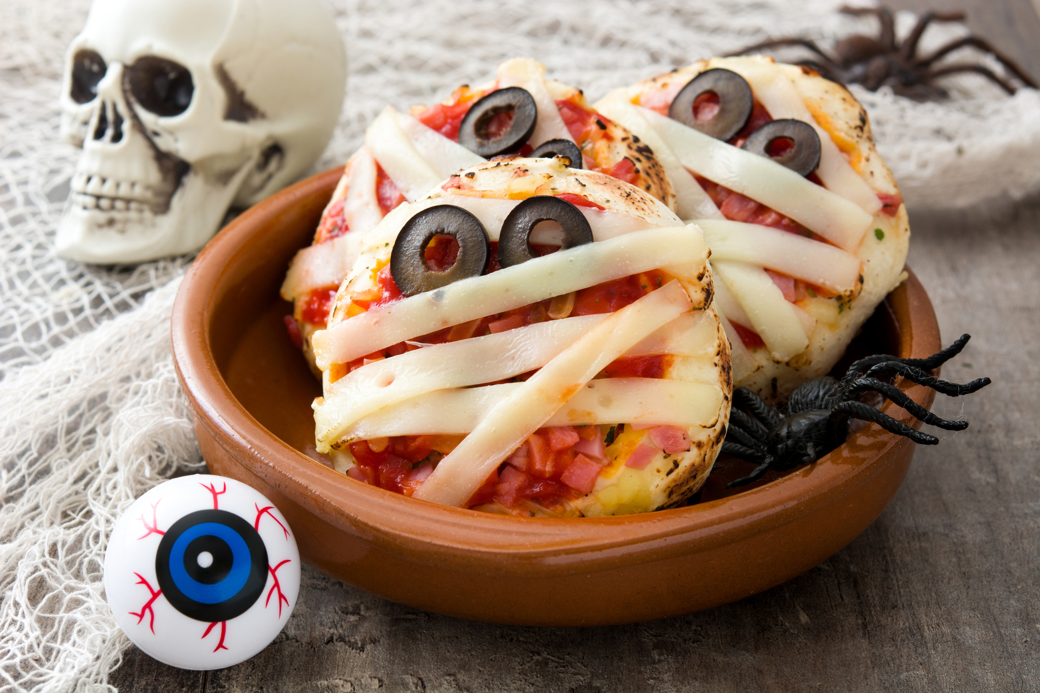 Mumien-Pizzen