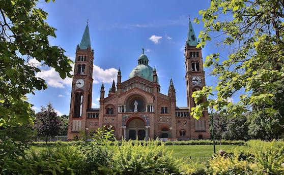Die Antonskirche in Wien-Favoriten