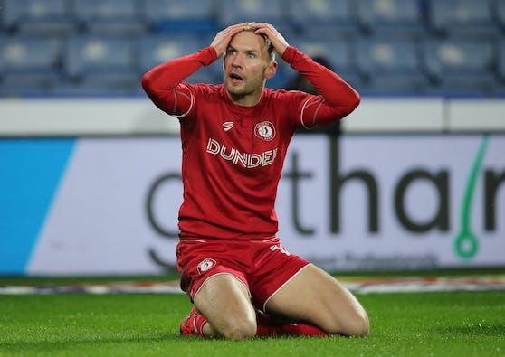 Andreas Weimann hat sich schwer verletzt.