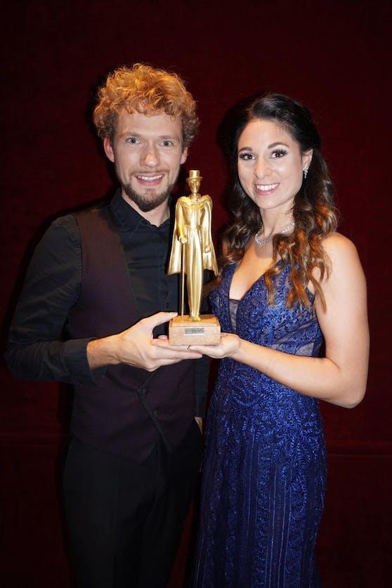 """Thommy Ten und Amelie van Tass wurden mit dem """"Mandrake d'Or"""" ausgezeichnet."""