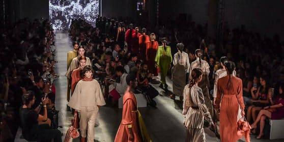 Die Sao Paulo Fashion Week 2019