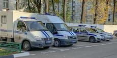 Russland: Angriff auf Polizeiwache - Teenie erschossen