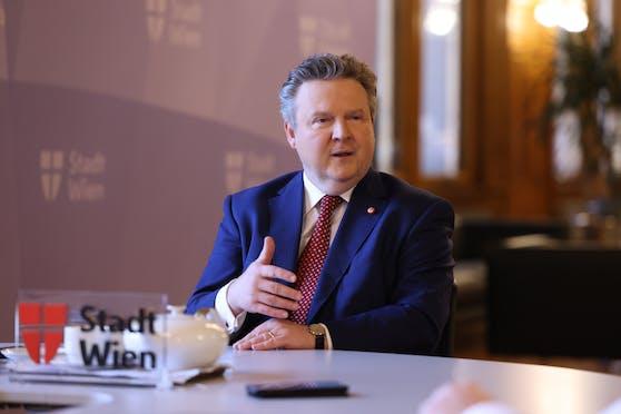 """Wiens Bürgermeister Michael Ludwig im Interview mit """"Heute"""""""