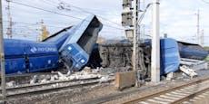 Güterzug in NÖ entgleist – Sperre und Verspätungen