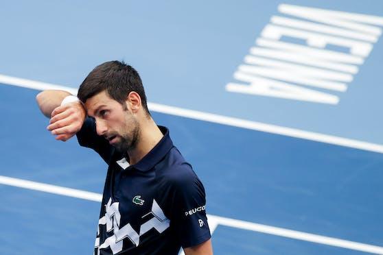 Novak Djokovic kann mit seinem Stadthallen-Aus gut leben.