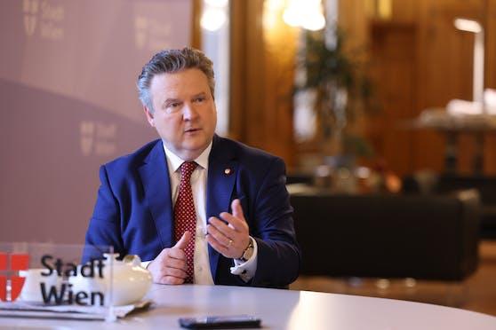 """Wiens Bürgermeister Michael Ludwig: """"Wir haben so viele Mitarbeiterinnen und Mitarbeiter im Contact Tracing wie kein anderes Bundesland."""""""