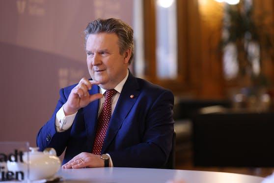 Wiens Bürgermeister Michael Ludwig schätzt die Bedeutung von Pop-up-Radwegen eher gering ein.