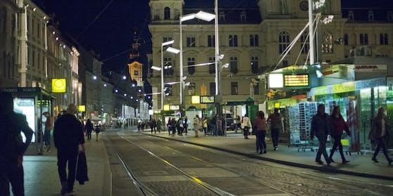 Wilde Verfolgungsjagd durch Graz.