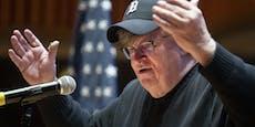 Michael Moore glaubt, dass Trump Infektion erfunden hat