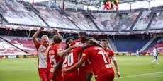 7:1 und 4:0! Salzburg und Sturm Graz in Torlaune