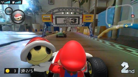 "So spielt sich ""Mario Kart Live: Home Circuit""."
