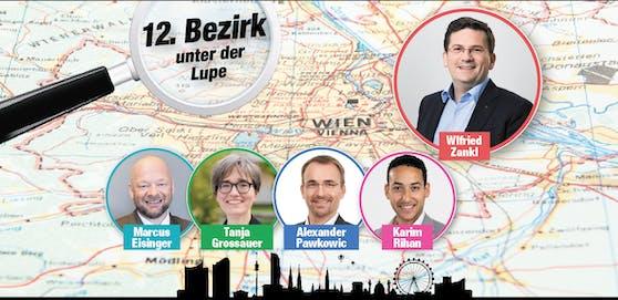 Das sind die Spitzenkandidaten in Meidling