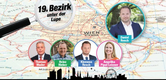 Das sind die Spitzenkandidaten in Döbling