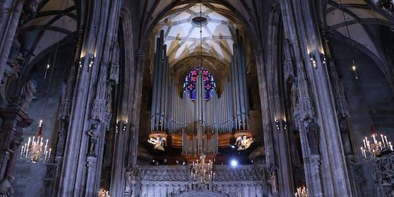 15.000 Pfeifen sorgen für einen göttlichen Klang im Stephansdom.