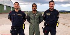 Polizisten und Soldat retteten Kellner das Leben