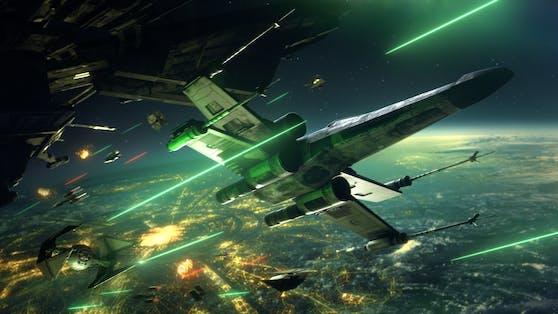 """""""Star Wars: Squadrons"""" ist jetzt für PC, PS4 und Xbox One erhältlich."""