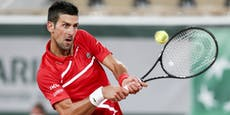 Djokovic-Express gab bei French Open erst 25 Games ab