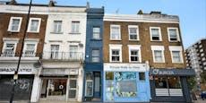 Das wohl schmalste Haus Londons ist keine 2 Meter breit