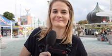 "Comedy-Star Hazel Brugger war einen ""Tag in Wien"""