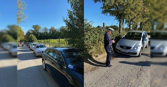 Der Einsatz eines Parksheriffs am Sonntag in Döbling dürfte sich offenbar gelohnt haben.